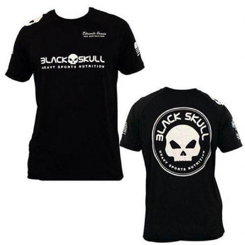 Camiseta Dry Fit - Preta Tamanho M - Black Skull no Atacado