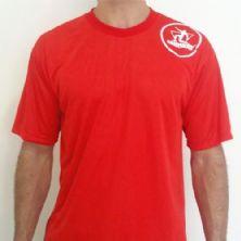 Camiseta dry fit - Vermelha Tamanho G - Midway
