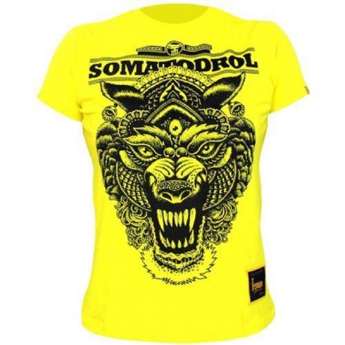 Camiseta Femino - Somatodrol Amarelo G - Iridium Labs no Atacado