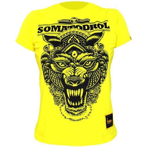 Camiseta Femino - Somatodrol Amarelo G - Iridium Labs
