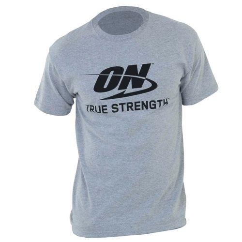 Camiseta ON True Strength - G Cinza - Optimum Nutrition