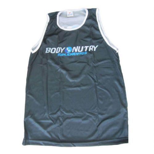 Camiseta Regata Masculina - Preta Tamanho P - Body Nutry no Atacado