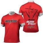 Camiseta Reglan Dry Fit Masculina - Vermelha Tamanho P - Integralmédica