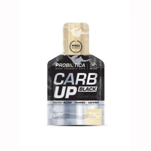 Carb Up Gel Black - Baunilha 1 sachês - Probiótica no Atacado