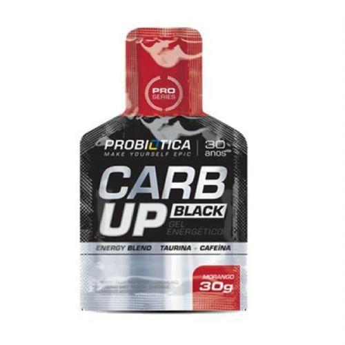 Carb Up Gel Black - Morango 1 sachê - Probiótica no Atacado