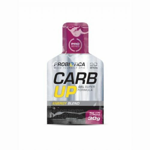 Carb Up Gel Super Fórmula Açai com Guarana 1 sachê de 30g - Probiótica no Atacado