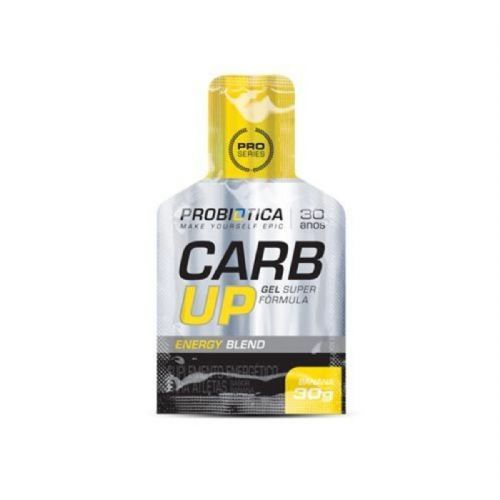 Carb UP Gel Super Fórmula - Banana 1 sachês - Probiótica no Atacado