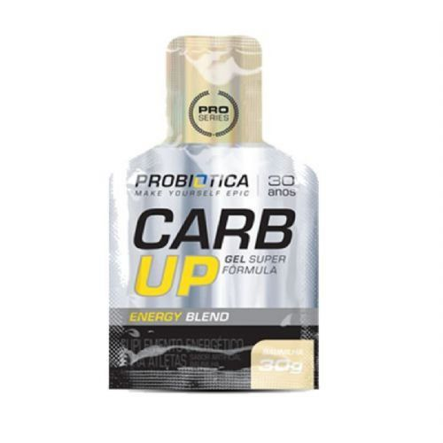 Carb UP Gel Super Fórmula - Baunilha 1 sachê - Probiótica no Atacado