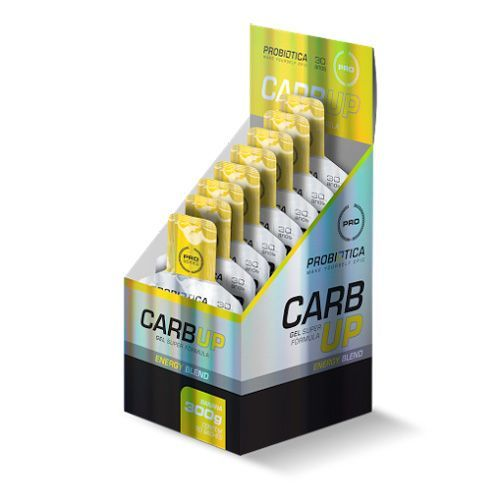 Carb UP Gel Super Fórmula - Baunilha - 10 sachês Probiótica
