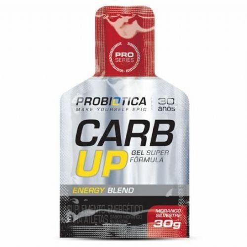 Carb Up Gel Super Fórmula  Morango Silvestre 1 sachê de 30g - Probiótica no Atacado