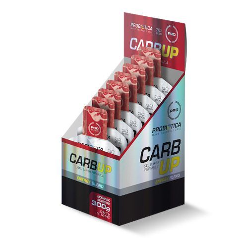 Carb UP Gel Super Fórmula - Morango Silvestre - 10 sachês Probiótica