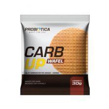 Carb Up Wafel - 1 Unidade 30g Caramelo - Probiótica*** Data Venc. 30/12/2020