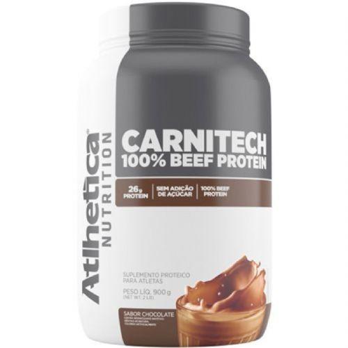 Carnitech 100% Beef Protein  - 900g Chocolate - Atlhetica Nutrition no Atacado