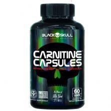 Carnitine Capsules - 60 Licaps  - Black Skull