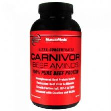 Carnivor Beef Aminos 270 tabletes - MuscleMeds