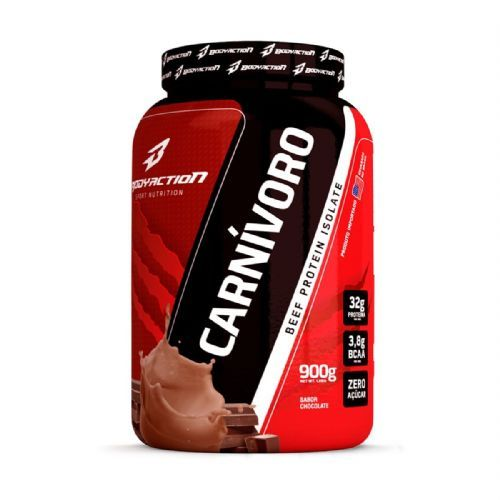 Carnivoro Beef Protein Isolate - 900g Chocolate - BodyAction no Atacado