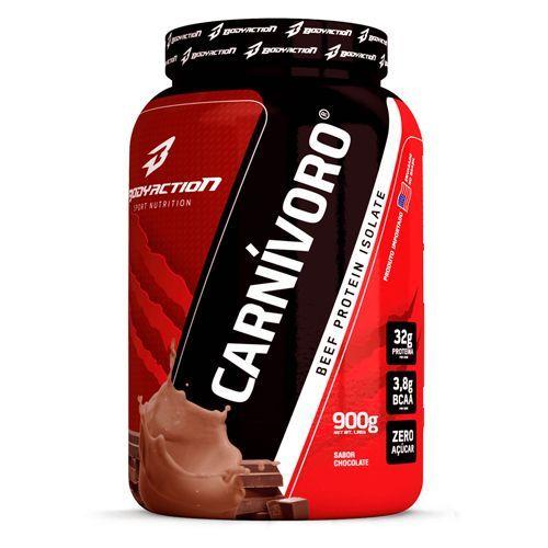 Carnivoro Beef Protein Isolate - 900g Sabor Chocolate - BodyAction