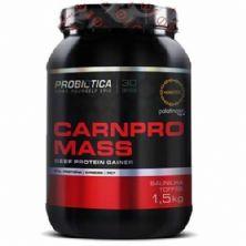 Carnpro Mass - 1500g Baunilha - Probiótica