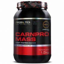 Carnpro Mass  - 1500g Chocolate  - Probiótica