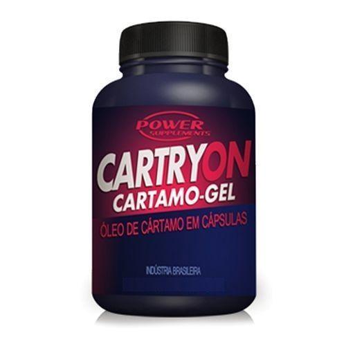 Cartryon 100 Cápsulas - Óleo de Cartamo - Power Supplements