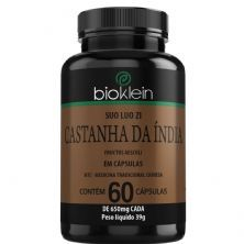 Castanha da Índia (Suo Luo Zi) - 60 Cápsulas - Bioklein