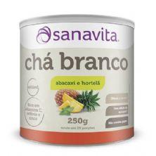 Chá Branco - 250g Abacaxi e Hortelã - Sanavita