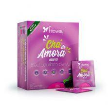 Chá de Amora -  60 Sachês - Fitoway