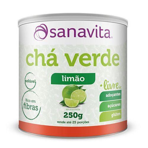 Chá Verde - 250 Limão - Sanavita