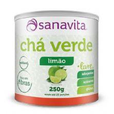 Chá Verde - 250g Limão - Sanavita
