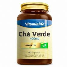 Chá Verde - 60 Cápsulas - VitaminLife
