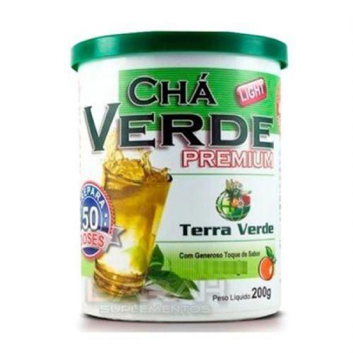 Chá Verde Premium - 200g Maracujá - Terra Verde no Atacado