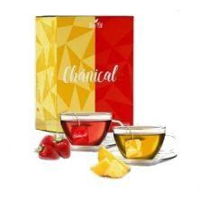 Chánical Chá Emagrecedor - 60 Sachês Abacaxi e Morango  - Tea Fit