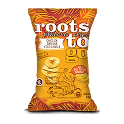 Chips De Banana com Canela Roots To Go 45g