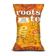 Chips De Banana com Canela Roots To Go 45g