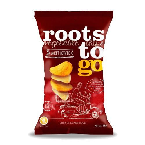 Chips De Batata Doce Roots To Go 45g