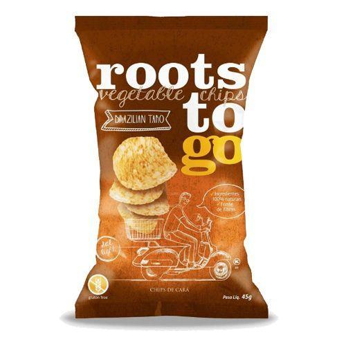 Chips De Cará Roots To Go 45g