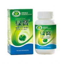Chlorella - 360 Tabletes - Green Gem