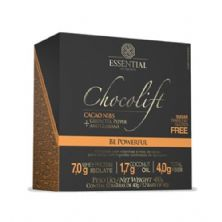ChocoLift - 12 Barras 40g Cacao Nibs- Essential Nutrition