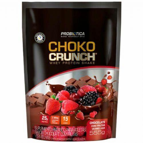 ChoKo Crunch - 555g Chocolate com Frutas Vermelha - Probiotica no Atacado