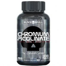 Chomium Picolinate - 200 Tablets - Black Skull