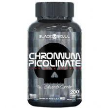 Chomium Picolinate - 200 Tablets - Black Skull