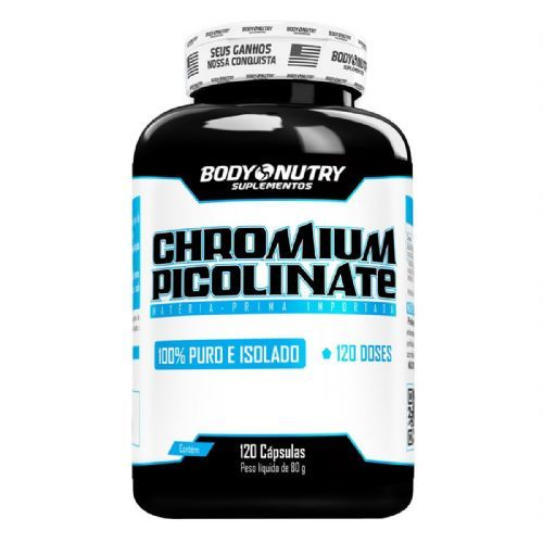 Chromium Picolinate - 120 Cápsulas - Body Nutry no Atacado