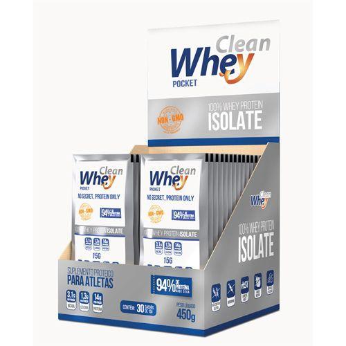 ab48fc04e Clean Whey Isolada - 30 Sachês - Sem Sabor - Protesa - www ...