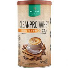 Cleanpro Whey Iso e Hidro - 450g Cappuccino - Nutrify