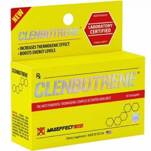 Clenbutrene - 60 Cápsulas - MaxEffect Labs no Atacado