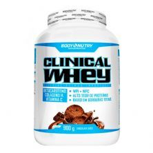 Clinical Whey - 900g Chocolate Suíço - Body Nutry