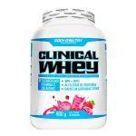 Clinical Whey - 900g Milk Shake de Morango - Body Nutry