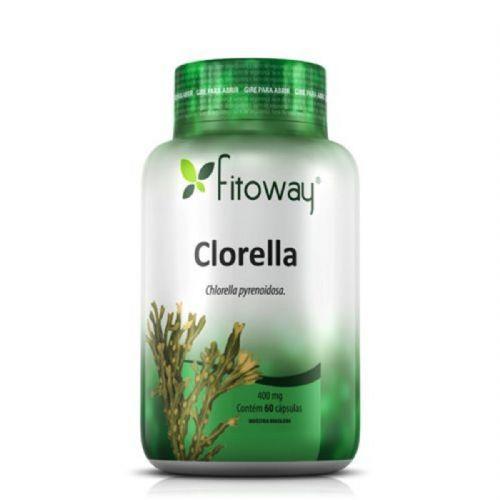 Clorella 400mg - 60 Cápsulas - Fitoway no Atacado