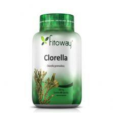 Clorella 400mg - 60 Cápsulas - Fitoway