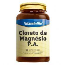 Cloreto de Magnésio P.A - 60 Comprimidos - Vitaminlife